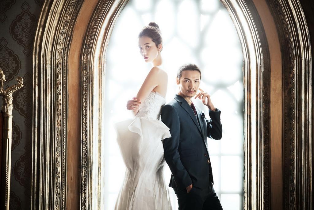 如何拍出好的室内婚纱照图片