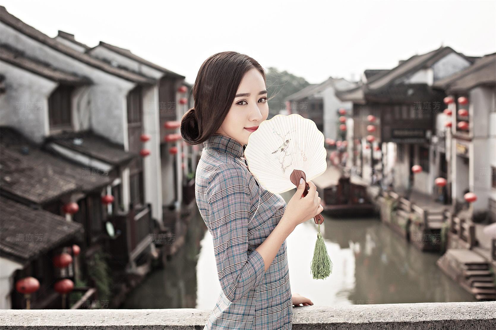 民国风婚纱照,旗袍婚纱照,苏州婚纱摄影